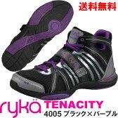 [RYKA]ライカ フィットネスシューズ TENACITY<テナシティー> C8149M-4005 〔ブラック〕(22.0〜28.0cm/レディース/メンズ)【ダンスシューズ】【16SS03】【正規品】/送料無料