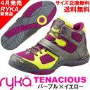 [RYKA]ライカ フィットネスシューズ TENACIOUS<テナシオス> E6643M-1020 〔パープル×イエロー〕(22.0〜28.0cm/レディース/...
