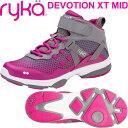 [RYKA]ライカ フィットネス DEVOTION XT MID 〔ピンクパープル×グレー〕 F4334M-1020