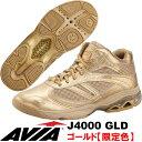 [AVIA]アビア フィットネスシューズ J4000 GLD〔ゴールド/限定カラー〕(22.0〜28.0cm/レディース/メンズ)【限定生産商品】【15FW09...