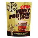 CFMホエイプロテイン+ペプチド ダブルチョコレート風味(900g) GOLD 039 S GYM_S ゴールドジムサプリ