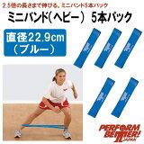 パフォームベター ミニバンド ヘビー5本パック(通常サイズ:直径22.9cm) Minibands 【当店在庫品/メール便対応可】 [Perform Better Japan]
