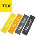 [TRX] ミニバンド(30.5cm) 全強度4本セット 【TRX正規品】