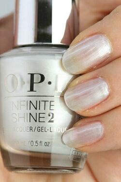 OPI INFINITE SHINE(インフィニット シャイン) IS-LL03 Kyoto Pearl(キョート パール) opi マニキュア ネイルカラー ネイルポリッシュ セルフネイル 速乾 パールホワイト 人気色 マット