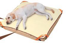 ペティオ zuttone 老犬介護用 床ずれ予防ベッド 大型犬用 【ペット用介護用品】 寝たきりや、横になっている事の多い老犬の快適な寝床に