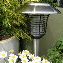 【ソーラーライト・LEDライト】【殺虫】【節電】LGS-28 ソーラー ステンレス ブリッツライト