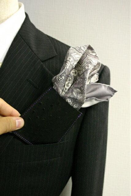 ◎【A-20-0】ポケットチーフ ホルダー【L...の紹介画像3