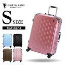 GRIFFINLAND スーツケース Sサイズ キャリーケース キャリーバッグ TSA1037-1 S 旅行カバン フレームタイプ 小型 2〜3日用 おすすめ かわいい 安い ビジネス 軽量 一人旅 海外 国内 旅行 Go To Travel キャンペーン 女子旅