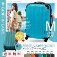 【送料無料】 スーツケース 中型 M サイズ キャリーケース キャリーバッグ ファスナー 軽量 修学旅行 旅行 TSAロック 人気 メッシュ加工 キャリーバッグ GRIFFIN LAND(グリフィンランド) ファスナー ジッパー ハードケース 10P06Aug16