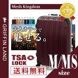 スーツケース メッシュKingdom M/MSサイズ グリフィンランド ハードケース フレーム キャリーケース 旅行かばん 10P09Jul16