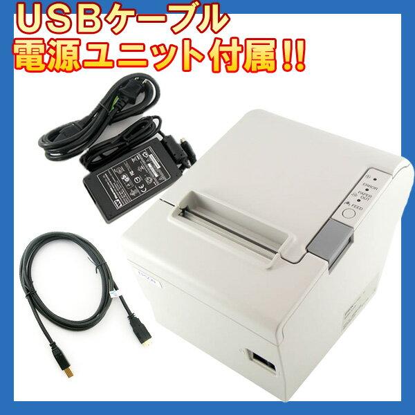 EPSON(エプソン) サーマルレシートプリンター TM885UD USB ホワイト 【TM885UD481/TM885UD501】 【smtb-TK】 電源・ケーブル付属!更に送料無料!業界最安値に挑戦!