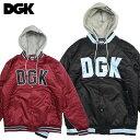 ショッピングカスタム 【DGK/ディージーケー】スタジアムジャケット フードジャケット/DGK Stadium Custom Varsity Fleece