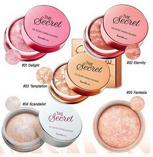 The secret Marbling Blusher ザシークレットマーブルブラッシャー Korean cosmetic / Korean cosmetic / Korea Koss /BB cream /bb