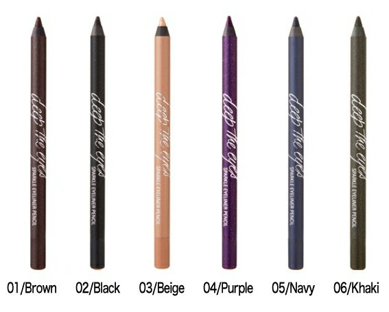 Deep The Eyes Sparkle Eyeliner Pencil deep the eyes sparkle eyeliner pencil Korea cosmetics and Korea cosmetics and Korean COS /BB cream /bb