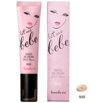 let me bebe NAKED BB CREAM NUDE レットミーベベネイキド BB cream nude SPF37 PA++ 30 ml Korean cosmetic / Korean cosmetic / Korea Koss /BB cream /bb
