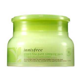 Green Tea Pure Sleeping Pack green tea pure sleeping Pack 80 ml Korea cosmetics and Korea cosmetics and Korean COS /BB cream /bb