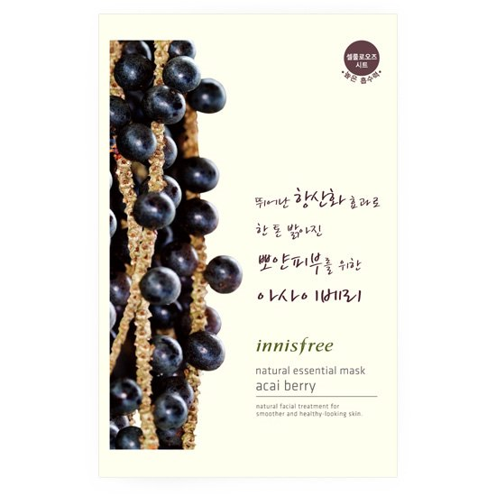 Essential mask acai berry natural essential mask acai berry Korea cosmetics and Korea cosmetics and Korean COS /BB cream /bb