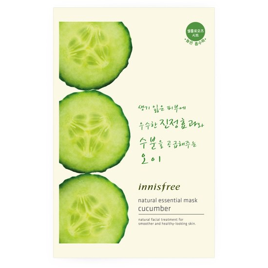 Essential mask cucumber natural essential mask cucumber Korea cosmetics / Korea cosmetics and Korean COS /BB cream /bb