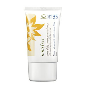 Eco Safety No Sebum Sunblock SPF35 PA + エコセーフティー ノーシーバム sunblock Korea cosmetics and Korea cosmetics and Korean COS /BB cream /bb