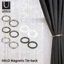 【メール便送料無料】Umbra ハロ マグネティックタイバック HALO Magnetic Tie−back/カーテンタッセル/アンブラ【在庫有】【あす楽】