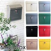 Mail box 郵便受け(無地タイプ)/ART WORK STUDIO【送料無料】【あす楽】【ポイント10倍/在庫有】【12/22】