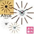 【ポイント10倍/送料無料/在庫有】Atras−clock−/アトラスクロック 壁掛け時計 ART WORK STUDIO【RCP】【5/6】