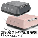 ★「ZIP 」で紹介★ZUNION ズニオン 超高性能コンパクト多機能空気清浄機 IAー250(CANT)【送料無料】【ポイント5倍/在庫有】【5/29】