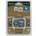 ●在庫限りの処分品(訳あり) miniSD 256MB SD変換アダプタ付属 プラケース入り DF-MISD256 【メール便OK】_Flash Store
