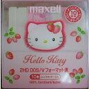 【ピンクタイプ】Maxell 3.5型フロッピーディスク10枚 キティちゃん仕様☆Hello Kitty Maxell MFHD18KYO.10P