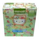 【グリーンタイプ】Maxellの3.5型フロッピーディスク10枚 キティちゃん仕様☆Hello Kitty Windowsフォーマット Maxell MFHD18KYE.10P