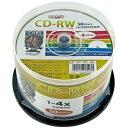 HIDISC データ用 CD-RW 4倍速50枚入 スピンドル HDCRW74YP50 アウトレット【返品不可】
