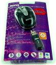 USBワイヤレス オプティカル マウスBenQ P600 (ミニサイズ) ブラックFJ.90A88.UEP