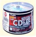 太陽誘電 CD-R 32倍速 50枚 シルバー無地レーベル CDR74SYSBN*