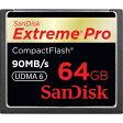 Sandisk CFカード600倍速 ExtremePro 64GB SDCFXP-064G-X46 【メール便できません】