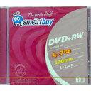 【売り切り御免!☆在庫限り】【返品交換不可】SMART BUY データ用DVD+RW 4.7GB 1枚_Outlet