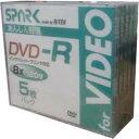 【返品交換不可】SPARK アナログ録画用 DVD-R 4.7GB 5枚_Outlet