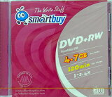 【売り切り御免!☆在庫限り】【返品交換不可】SMART BUY データ用DVD+RW 4.7GB 1枚Outlet