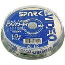 【返品交換不可】SPARK アナログ録画用 DVD-R 120分 10枚 SP DVR120 4X WB10_Outlet