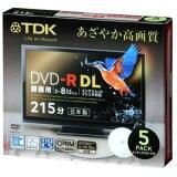 ����������TDK Ͽ����DVD-R DL(215ʬ) �ǥ���������Ͽ���б�(CPRM) �ۥ磻�ȥ磻�ɥץ�֥� 2-8��® 5mm����ॱ���� 5��ѥå� DR215DPWB5S