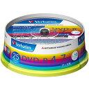 【お取り寄せ】Verbatim データ用DVD-R 4.7GB 16倍速 25枚 ワイドプリンタブル バーベイタム DHR47JP25V1 三菱
