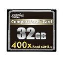 HIDISC CFカード 32GB 400x Read60MB/s HDCF32G400X 【メール便対象商品合計2個までOK】