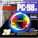 【アウトレット】TDK 3.5型強面構造フロッピーディスク FD 20枚