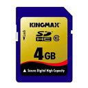 KingMax 超高速SDHCカード 4GB class10 KM-SDHC10X4G 【メール便OK】