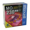 【生産終了品・在庫限り】マクセル 3.5インチ MOディスク 230MB 5枚 アンフォーマット maxell MA-M230 B5P
