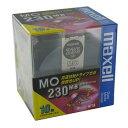 【生産終了品・在庫限り】マクセル 3.5インチ MOディスク 230MB 10枚 アンフォーマット maxell MA-M230 B10P