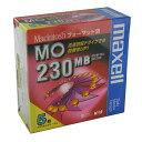 【生産終了品・在庫限り】マクセル 3.5インチ MOディスク 230MB 5枚 Machintoshフォーマット済み MA-M230 MAC B5P