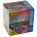 【生産終了品・在庫限り】マクセル 3.5インチ MOディスク 230MB 10枚 Machintoshフォーマット済み MA-M230 MAC B10P