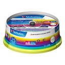 【お取り寄せ】Verbatim 片面2層 データ用DVD+R DL 8.5GB 8倍速 25枚 ワイドプリンタブル バーベイタム DTR85HP25V1 三菱