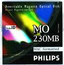 PHILIPS 32P-M 1枚(230MB Mac ) 3.5インチMOディスク Macintoshフォーマット済
