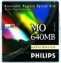 フィリップス 3.5インチ MOディスク (光磁気ディスク) 640MB アンフォーマット PHILIPS 34P(640MB)